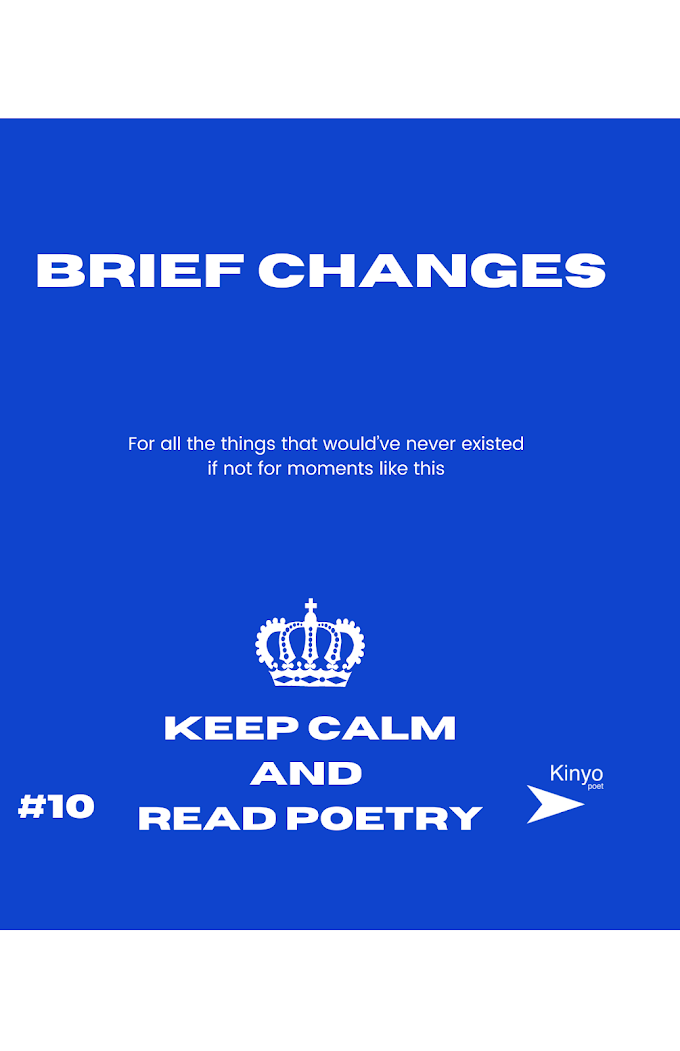 New From Keep Calm and Read Poetry, Tal and Brief Changes