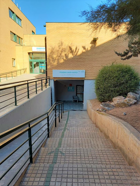 PCR test centre Quiron Hospital Torrevieja