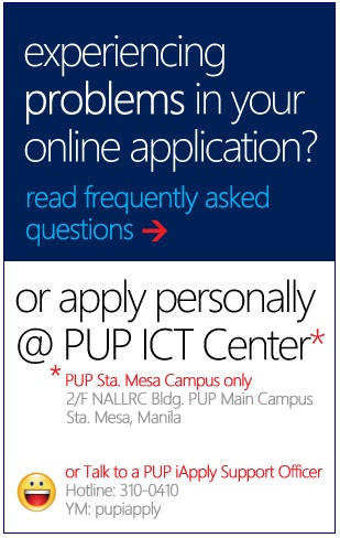 Information for those who have questions about PUPCET
