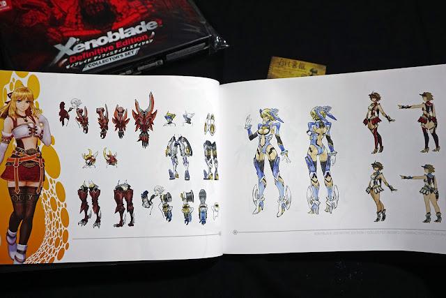 DSC01937 - 異域神劍 異度神劍 終極版 遊戲限定版畫集  ゼノブレイド ディフィニティブ・エディション / Xenoblade Definitive Edition / Xenoblade Chronicles: Definitive Edition
