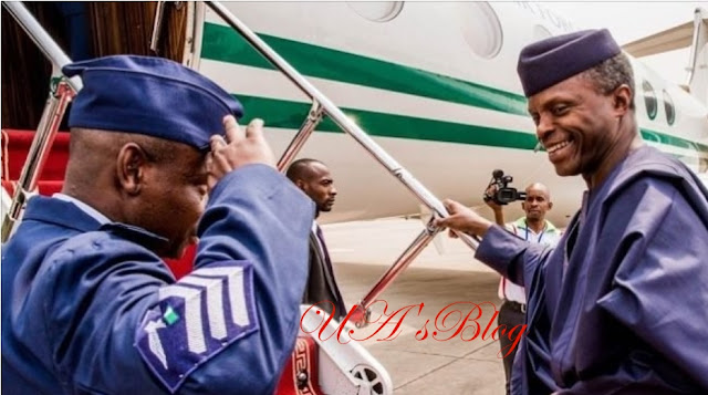 Osinbajo off to US, to meet Pence