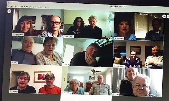 Születésnapi köszöntés videokonferencia segítségével