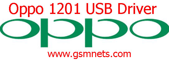 Oppo 1201 USB Driver