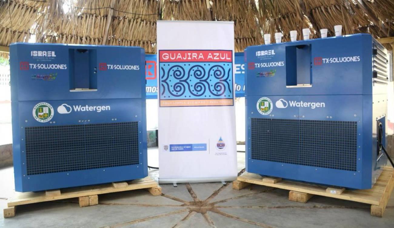 hoyennoticia.com, Para La Guajira Israel dona máquinas que convierten el aire en agua