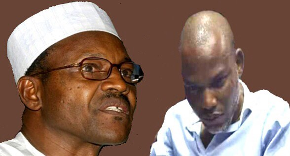 Buhari and Nnamdi Kanu