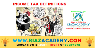 Income Tax Definitions