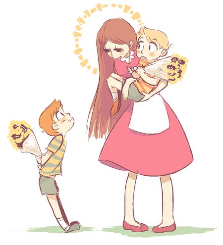 Mơ thấy mẹ vẫn còn sống cùng con cháu