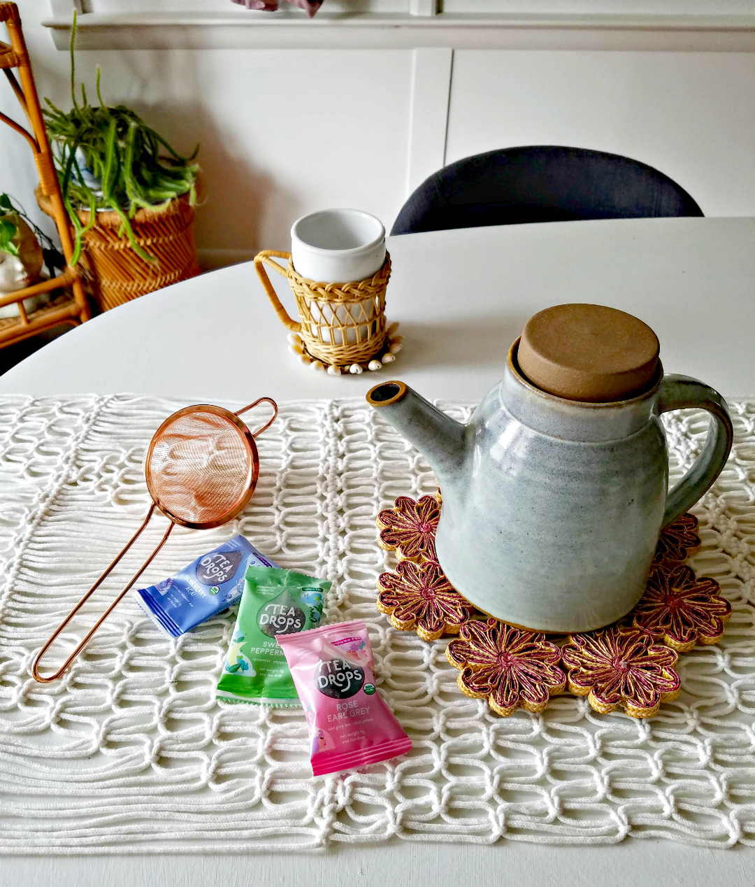 Simple Ways To Enjoy Being Home  - Tea Time - TheBohoAbode