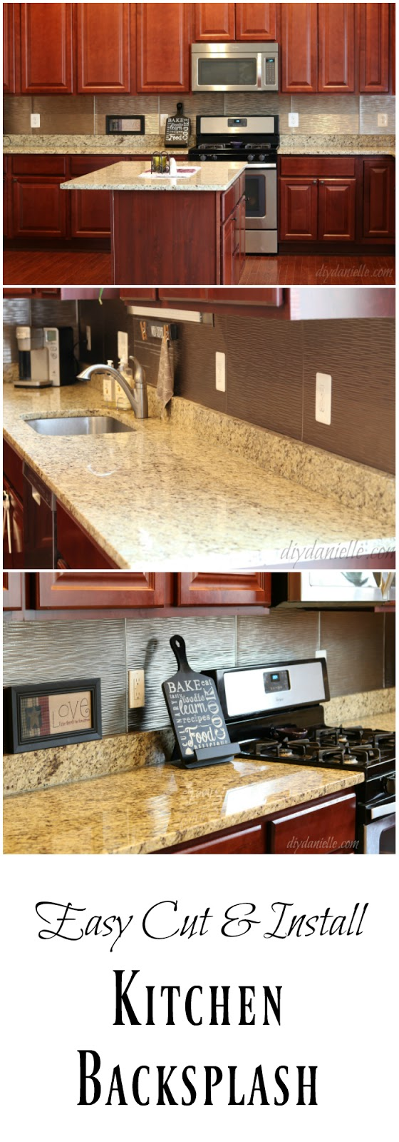 how to install an easy backsplash without a wet saw using thin fasade