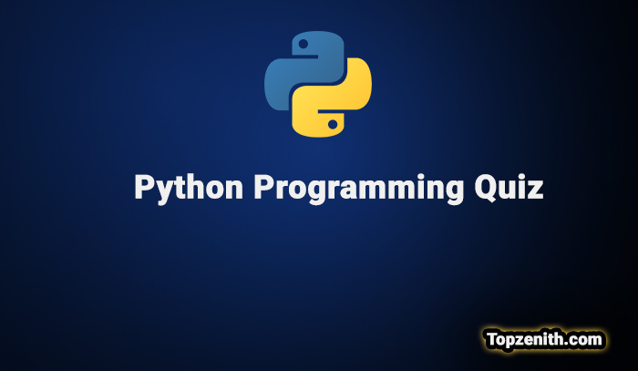 Python quiz with questions and answers