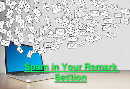Spam in Your Remark Section