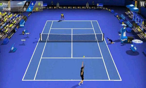تحميل افضل لعبة تنس للاندرويد 3D Tennis مجاناً 2021