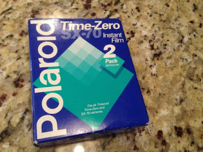 Polaroid Time Zero film pack