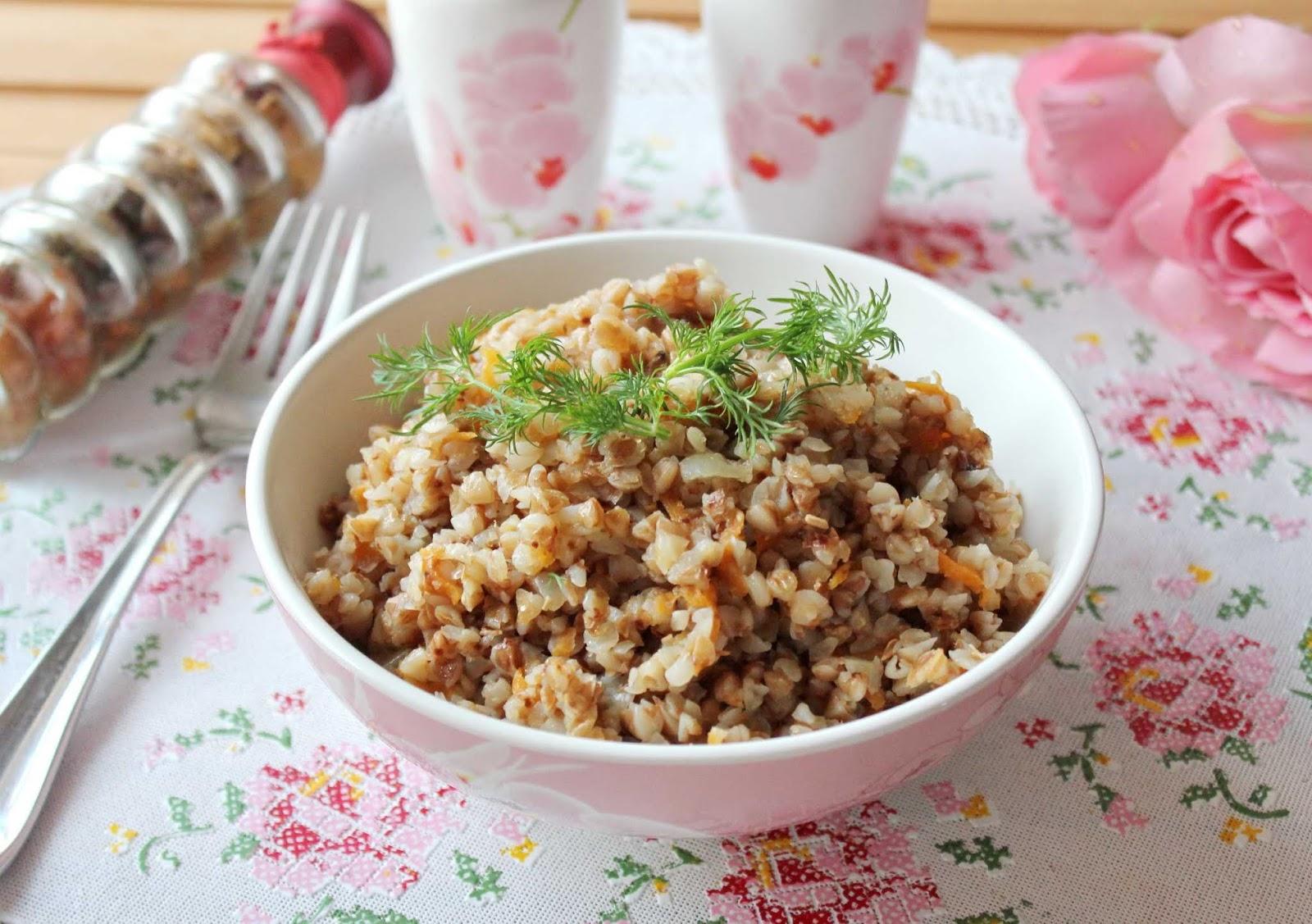 Гречка с морковью для похудения