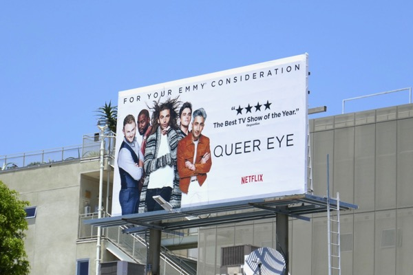 Queer Eye 2018 Emmy fyc billboard