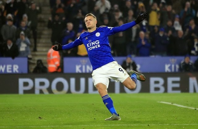 SUPER VARDY!!!, scores in 7 consecutive games in a row