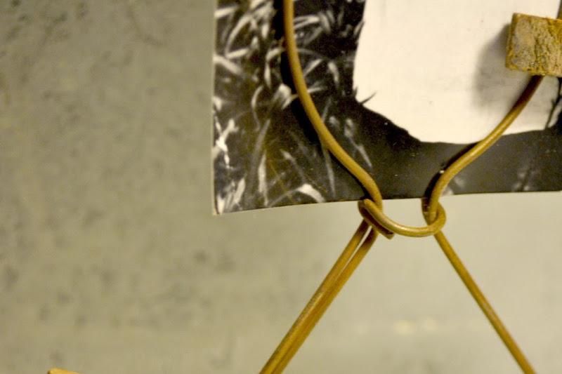 Lamp Shade Photo Holder