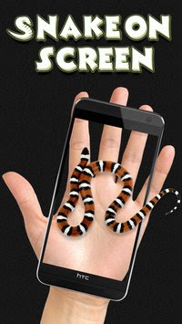 Snake on Screen Joke MOD APK v3.0.8 for Android (Aplikasi Ular di Atas Layar) Terbaru 2017 Gratis