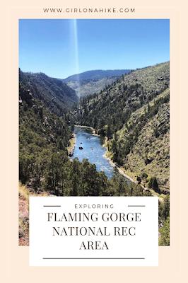 Camping & Exploring at Flaming Gorge National Rec Area