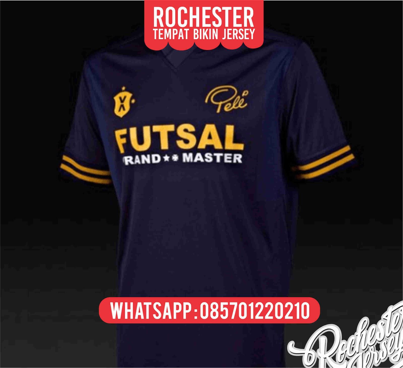 Top Desain Kaos Futsal Kerah 1001desainer