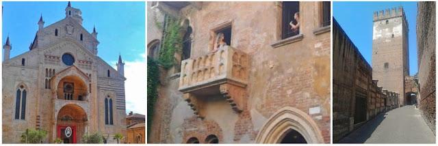 Duomo – Balcon en la casa de Julieta – Castelvecchio en Verona