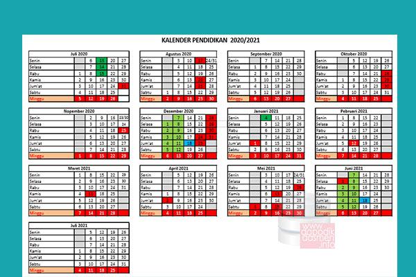 Anda Mencari Kalender Pendidikan Provinsi Jawa Timur Tahun Pelajaran 2020-2021? Kaldik Jatim Tapel 2020/2021 bisa didownload dengan mudah disini