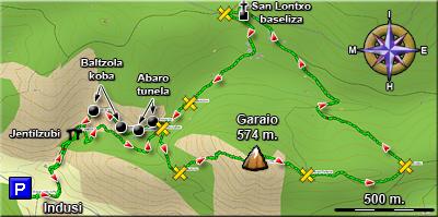 Ampliar plano del recorrido