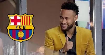 Neymar's new contract with Barcelona