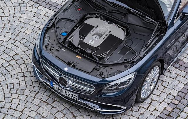 2017 Mercedes-AMG S65 Cabriolet Engine
