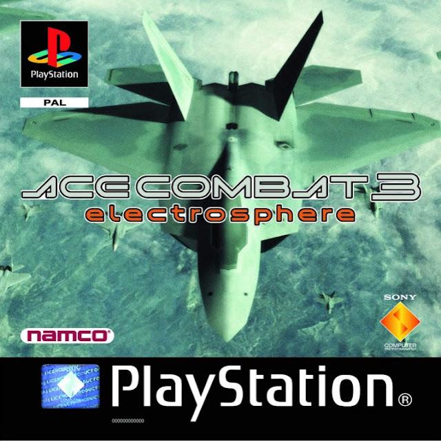 Ace Combat 3: Electrosphere PSX - Portada