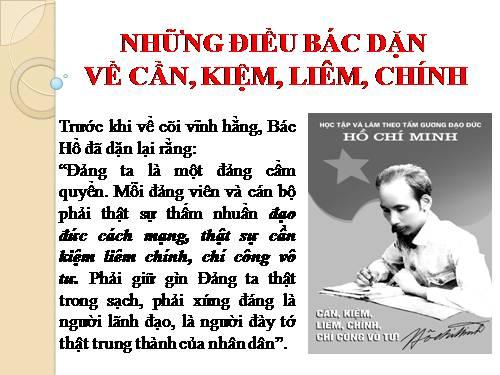 Giáo dục lý tưởng cho thanh niên theo tư tưởng Hồ Chí Minh