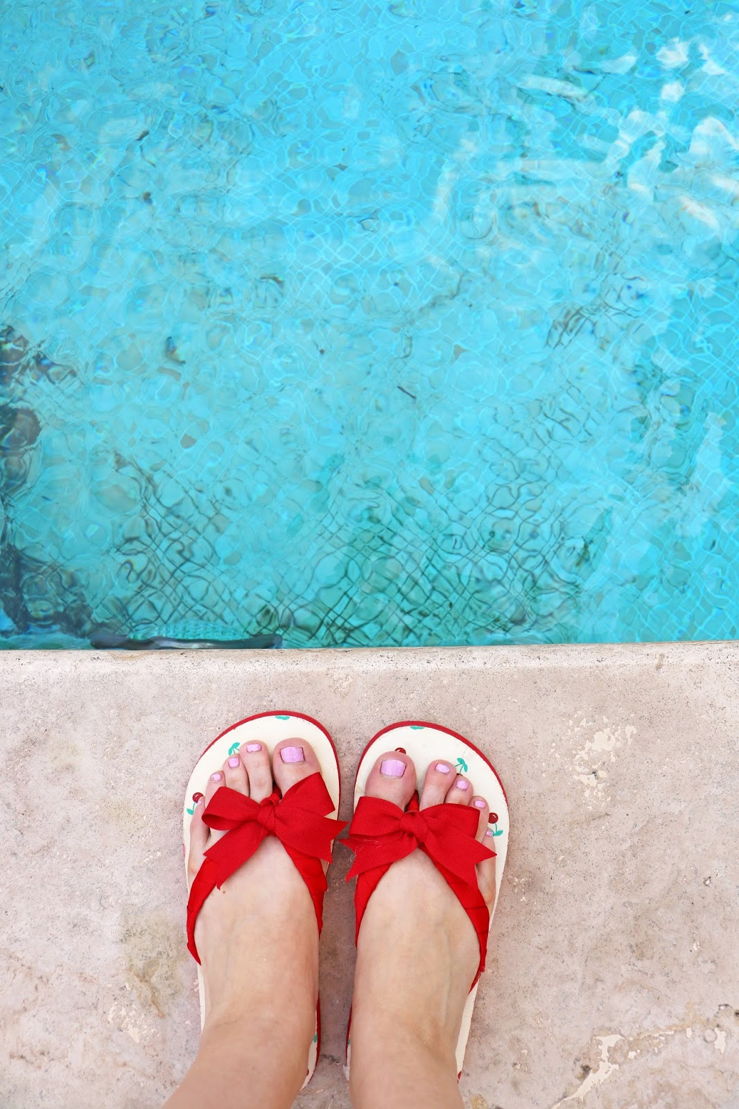 Simple DIY Flip Flops Makeover using Ribbon