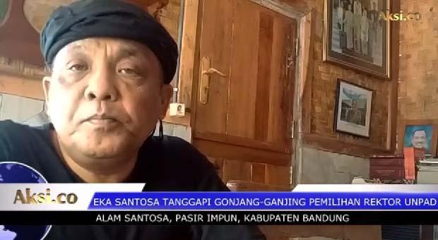 Eka Santosa Tanggapi Gonjang-Ganjing Pemilihan Rektor Unpad