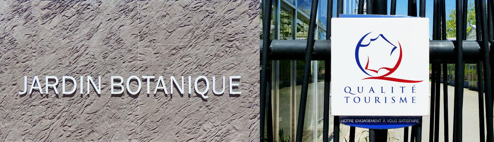 Qualité Tourisme™ - Jardin botanique, Tourcoing
