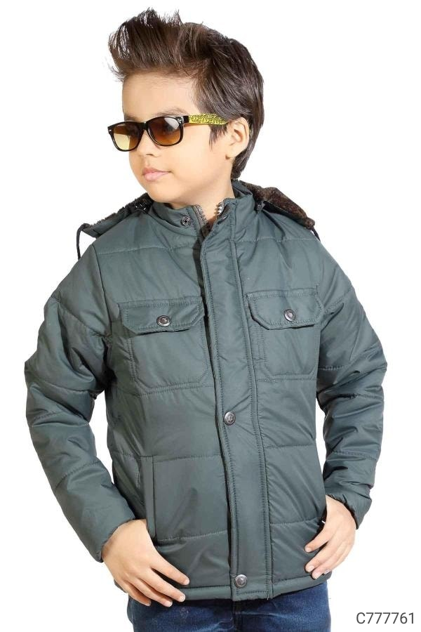Boy's Solid Jackets