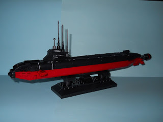 submarino nuclear de la marca sluban