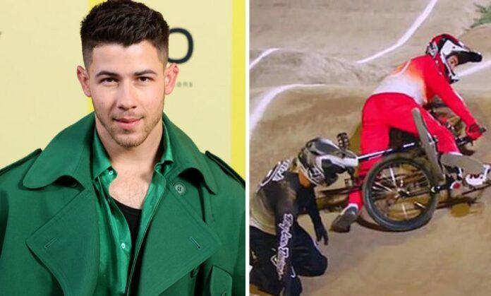 Nick Jonas cuenta cómo se fracturó una costilla
