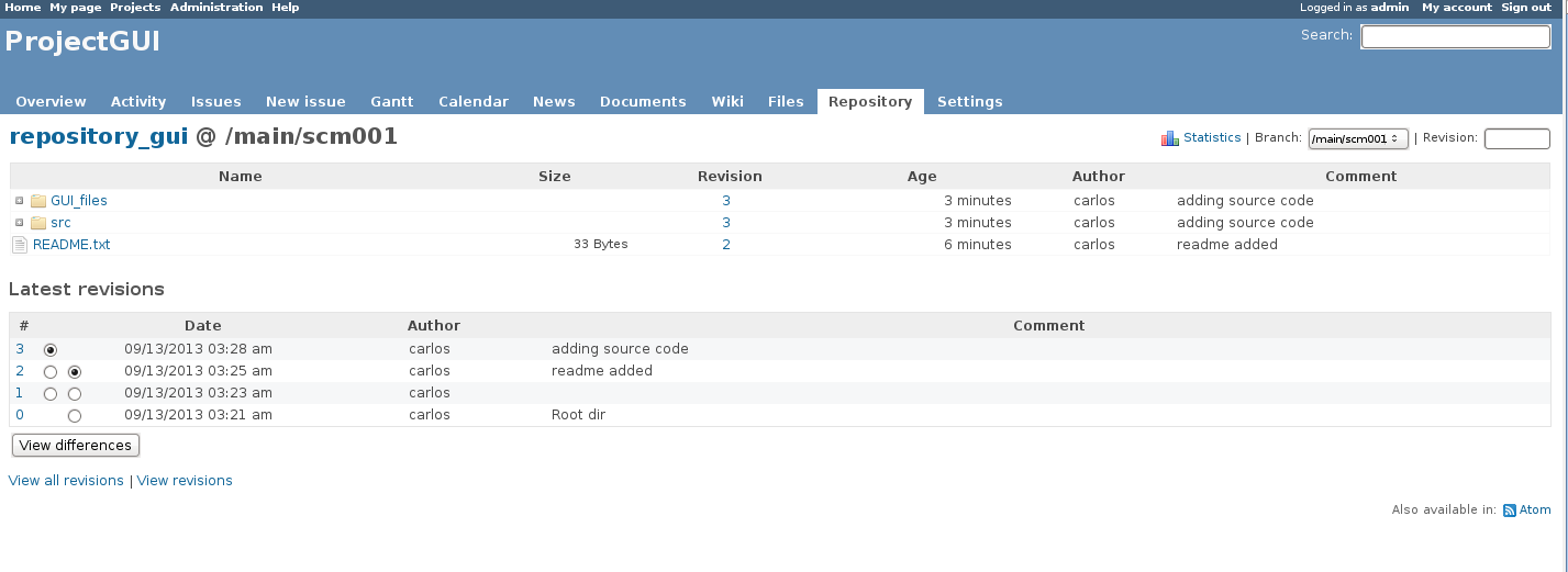 Plastic SCM blog: RedMine Integration