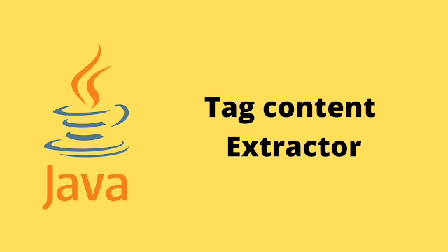 HackerRank Tag Content Extractor solution in java