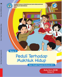 Buku tema 3 Guru Kelas 4 k13 2017