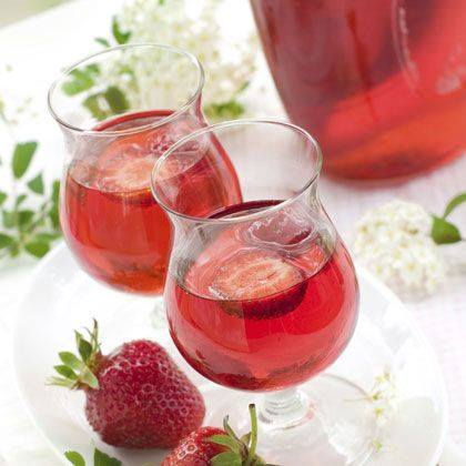 Berry Mimosa Mocktail