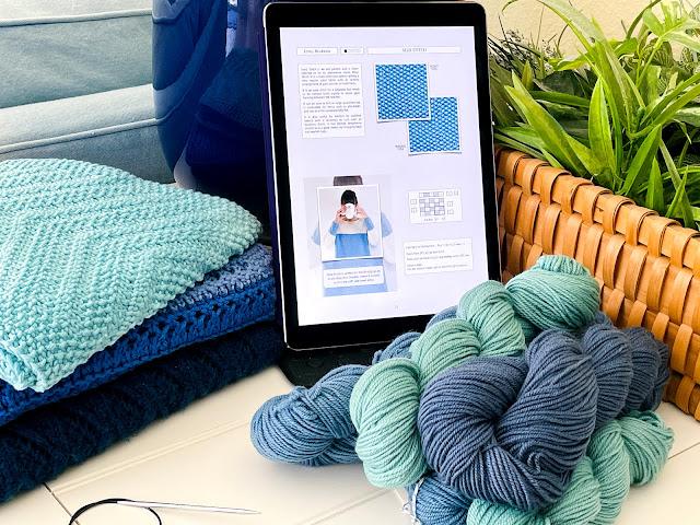 Reversible Knitting Stitches E-book by Moira Ravenscroft & Anna Ravenscroft, Vertical Format, www.wyndlestrawdesigns.com