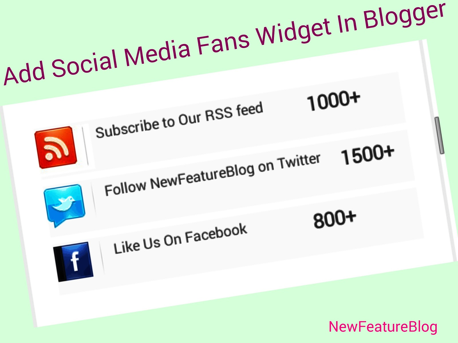 how-to-add-social-media-fans-counter-widget-in-blogger