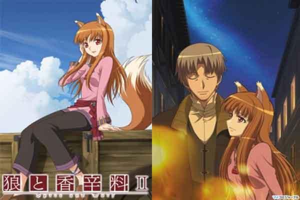 Ookami to Koushinryou - anime terbaik