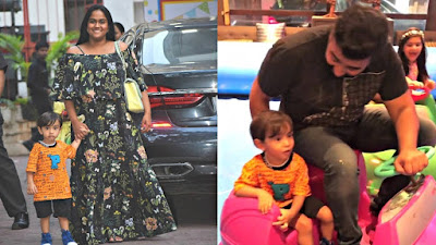 arpita-ahil-at-viaans-birthday