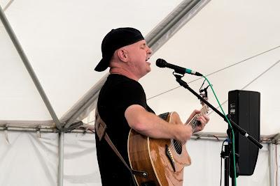 Jamie Barrett performing (photo by Jake Jacobson)