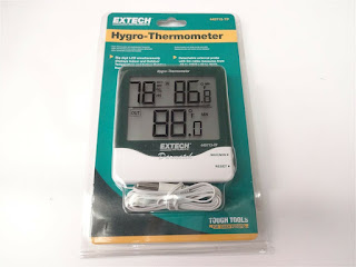 EXTECH 445713-TP ::  Hygro-Thermometer -50 to 70°C Big Digit Indoor/Outdoor
