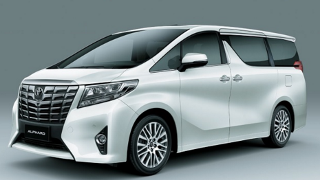 2017 Toyota Alphard Redesign