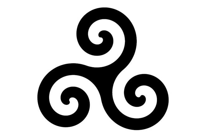 Triskelion (Üçlü sarmal) sembolünün anlamı nedir ?
