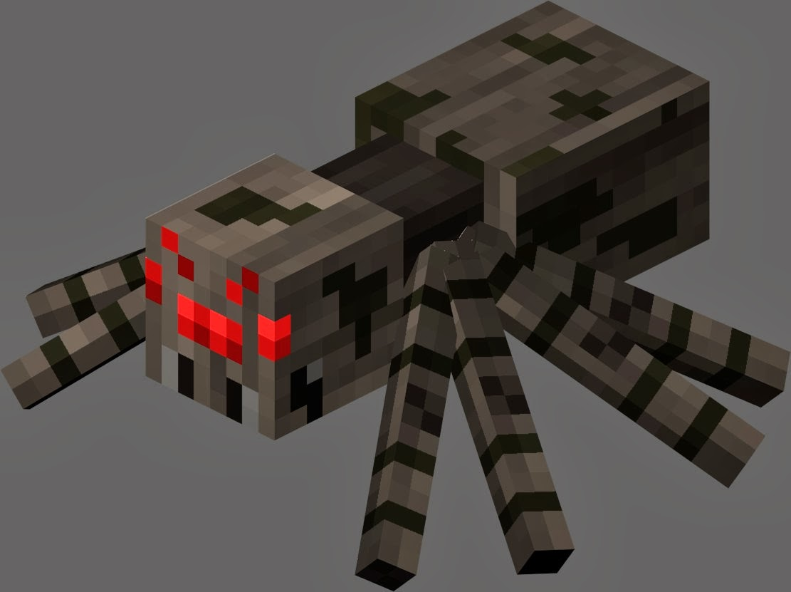 Minecraft Spinne